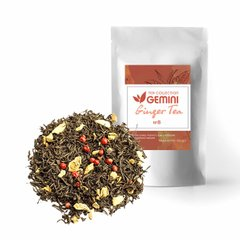 Чай листовой 250г Ginger Tea Имбирный чай